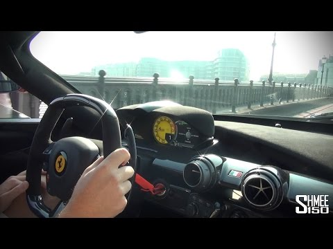 shmee test for the first time ferrari laferrari
