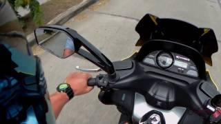 5. Kymco Xciting 400i ABS Review (UK)