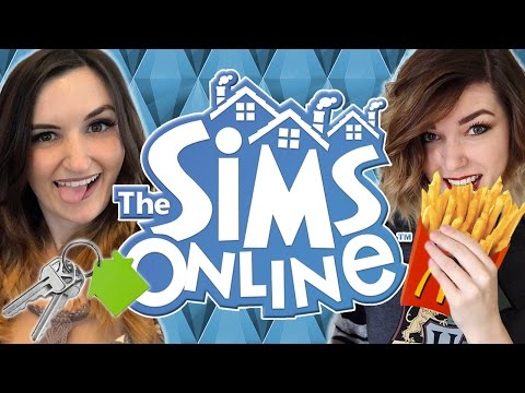 Finally Buying A House + FREE MCDONALDS!! | THE SIMS ONLINE MULTIPLAYER w/ BBPaws