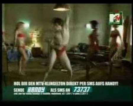 Image of MTV Klingelton Werbung. Alter ruf mich auf meinem Handy an