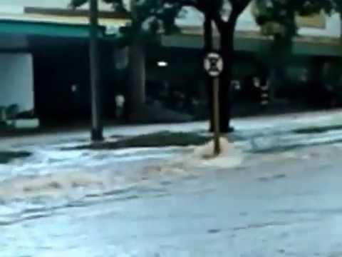 Chuva em Bauru - Nações Unidas - 15/03/2013