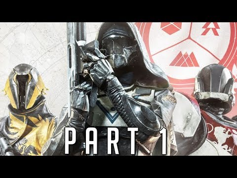 DESTINY 2 WALKTHROUGH GAMEPLAY PART 1 - Titan (PS4 Pro) (видео)