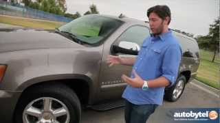 2012 Chevrolet Suburban Test Drive&SUV Car Video Review