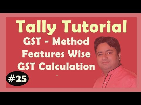 GST Tutorial PDF Solution - Part 1 in Tally ERP9 | Tally beginners to Advance classes by Manoj Sir