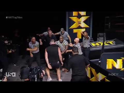 Pat McAfee Punts Adam Cole In Head