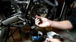 Cambio de embrague y otros moto enduro 150 cc segunda parte