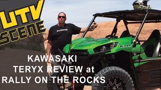 5. 2016 Kawasaki Teryx LE Review at Rally on Rocks in Moab, UT