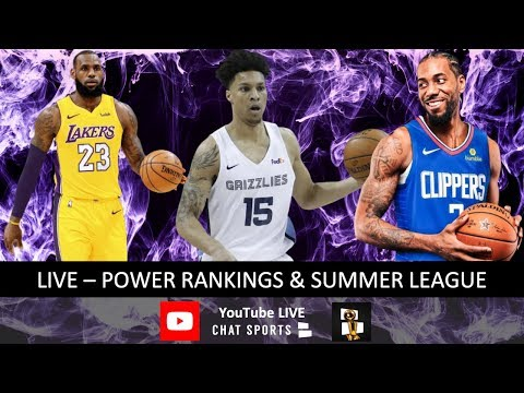 NBA Rumors, News, Summer League Winners & Losers & NBA Power Rankings Feat. Lakers, Clippers & Bucks
