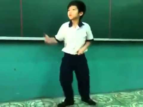 Future professional gangnam dancer