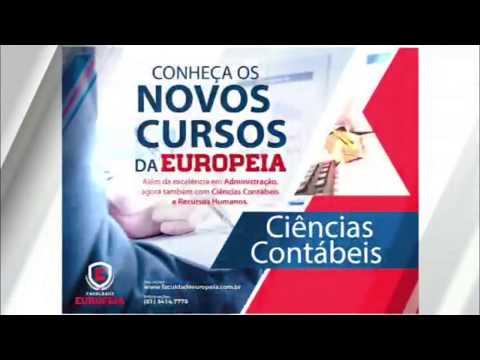 Novos Cursos Europeia Ciências Contábeis