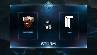 Renegades vs Titan, game 1