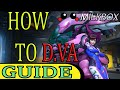 Overwatch: How To Play As D.va And Support Your Team Effectively