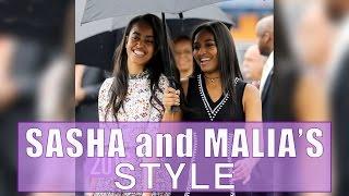 Sasha and Malia's Style Evolution by Seventeen Magazine