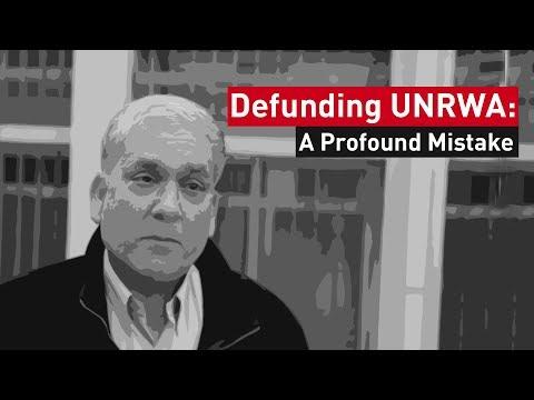Exclusive: Chris Gunness on UNRWA Funding