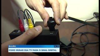 Falta menos de um mês para o desligamento do sinal analógico na região de Sorocaba