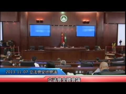 立法會全體會議20131107