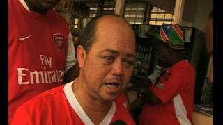 Namibia's number one football fan Robbie Savage has died - NBC