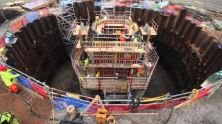 Mersey Gateway Bridge - South Pylon Second Lift - September 2015