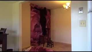 """""""Instinct"""" Floral Mural Installation"""