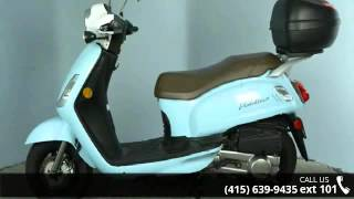 6. 2013 SYM Fiddle 125 Only 804 Miles! - SF Moto - San Franc...