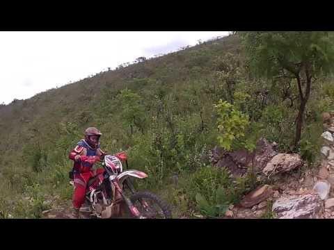Daniel Vermeio dando trabalho na serra de Tres Pontas