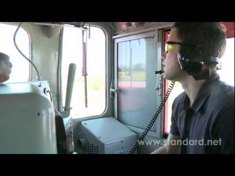 Driving a Locomotive