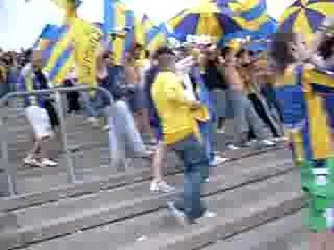 Video - ENTRADA DE LA BARRA BRAVA DE CENTRAL A MENDOZA LOS GUERREROS - Los Guerreros - Rosario Central - Argentina