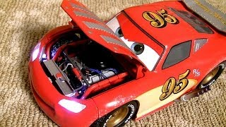 Custom Lightning McQueen 1:18 by Pixar Jay Ward Series DisneyPixarCars Collection by ToyCollector