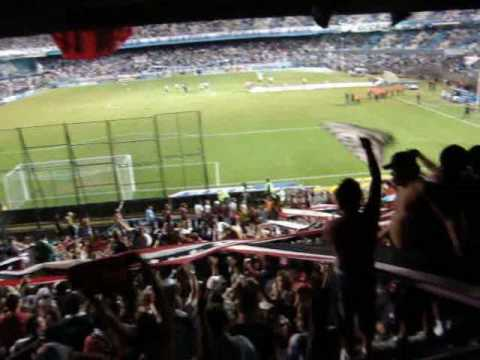 Video - Racing vs Chacarita (resumen desde la popular) - La Famosa Banda de San Martin - Chacarita Juniors - Argentina
