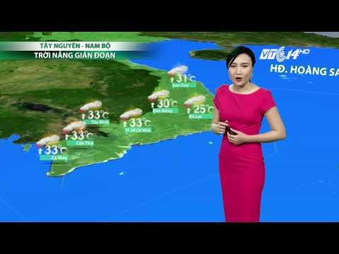(VTC14)_Thời tiết 6h ngày 17.05.2017