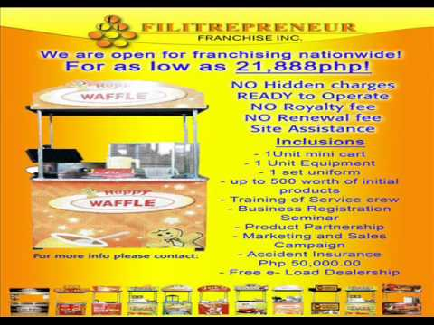 OPEN FOR FRANCHISING BUSINESS..IN METRO MANILA