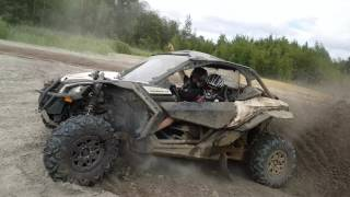 9. Having fun with a Maverick X3 X DS with Yoshimura exhaust! Part 1