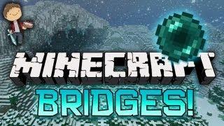Minecraft: BRIDGES WINTER BATTLE 3.0 Mini-Game! w/Mitch&Friends! ENDER PEARL!