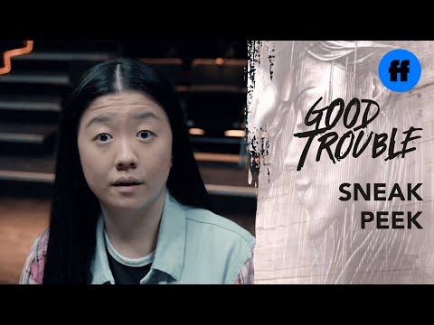 Good Trouble Season 3, Episode 3 | Sneak Peek: Alice Meets the Other Comedy Workshop Finalists