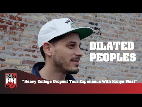 Dilated Peoples - Heavy College Dropout Tour Experience With Kanye West (247HH Exclusive)
