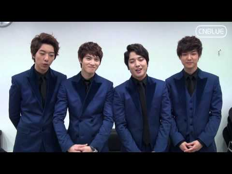 CNBLUE's Greeting Message