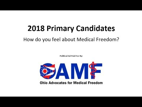 2018 Primary Candidates - How do you feel about Medical Freedom?