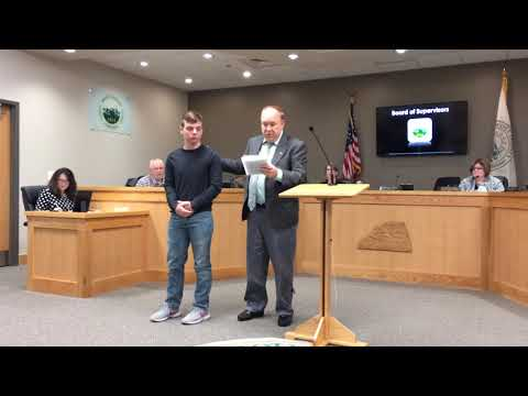 Video: Rye Cove swimmer honored for first-place finish