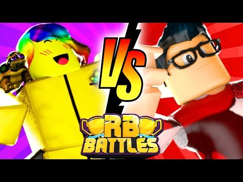 TOFUU vs HYPER - RB Battles Championship For 1 Million Robux! (Roblox Build A Boat for Treasure)