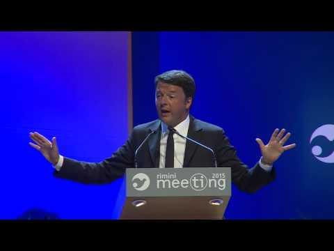 discorso di matteo renzi al meeting di rimini 2015