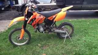 8. How to bleed the hydraulic clutch on a KTM 85 or KTM 125 or KTM 250