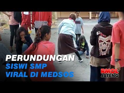 Perundungan Siswi SMP di Kendal Viral di Medsos