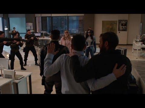 agent of liberty attack catco/ supergirl season 4 episode 19