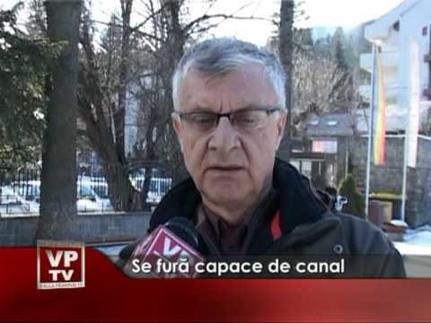 Se fură capace de canal