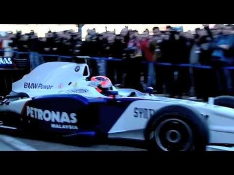 El BMW Sauber F1.09 presentado en Valencia