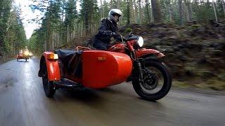 8. Cold-War Bike by Ural Sparks Sidecar Revival