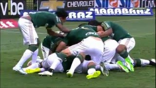 Golaço Robinho Narração Milton Leite e José Silvério Palmeiras x São Paulo