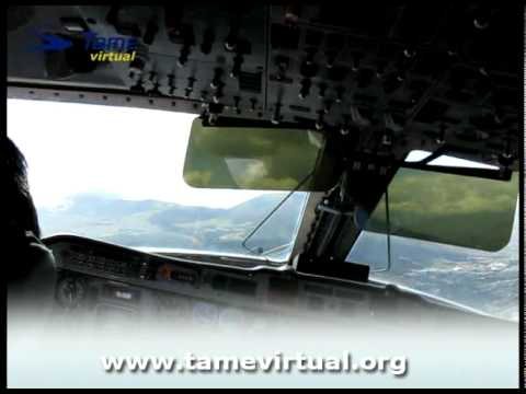 Flight Quito Cuenca Ecuador Embraer 120 TAMEXpress