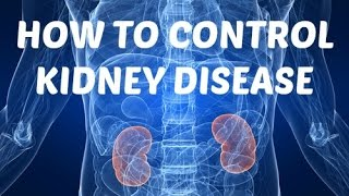 Learn how to control your kidney disease here - http://healthylivingreport.com/KidneyDisease Do you want to know how to...