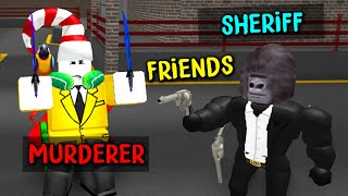 Murder Mystery 2 but the murderer and sheriff are friends..